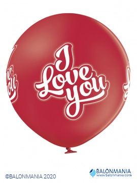 I love you balon (60cm) - 1 kom