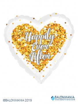 Happily ever after srce balon